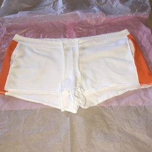 Orange and white fabletics Shorts XL